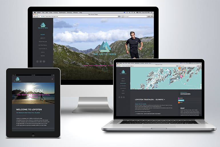 The Arctic Triple website