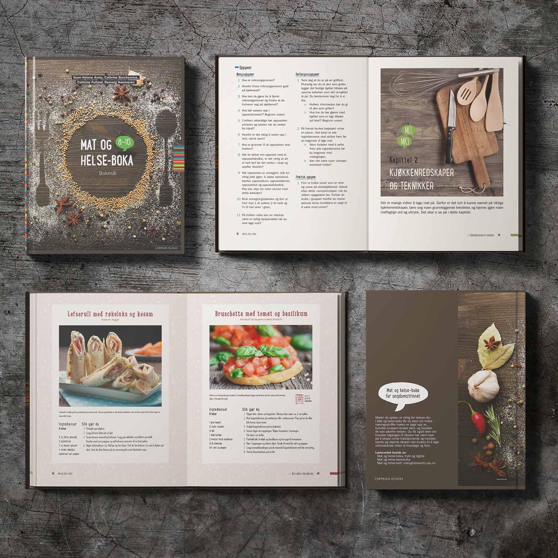 Mat og helse-boka, Cappelen Damm
